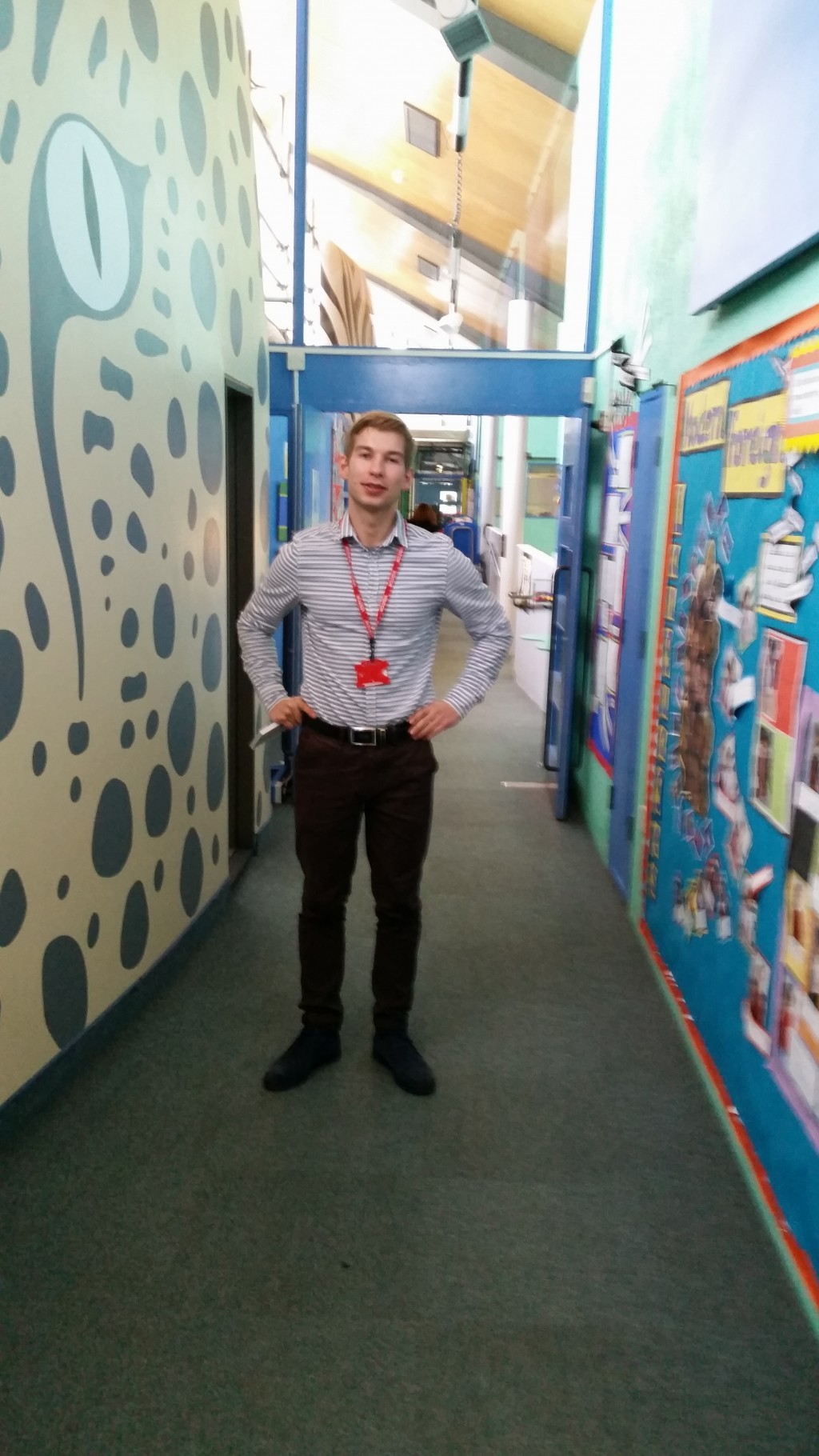 Job shadowing at Pokesdown Community Primary School