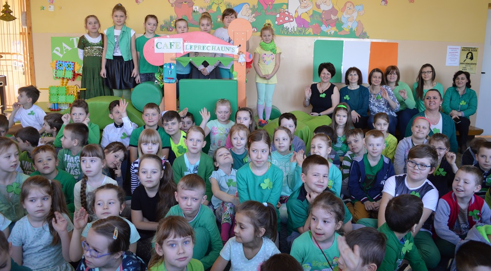 St. Patrick's Day in our school