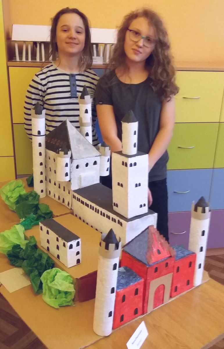 The Art of Building: model zamku Neuschwanstein