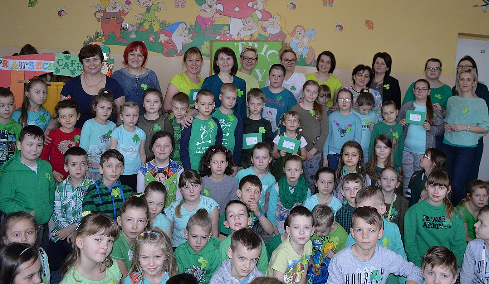 Patrick's Day in our school  SP Radomice